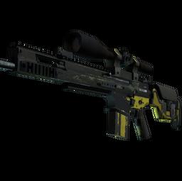 SCAR-20 | Jungle Slipstream (Battle-Scarred)