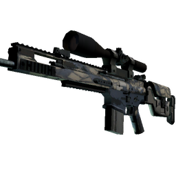 SCAR-20 | Stone Mosaico (Field-Tested)
