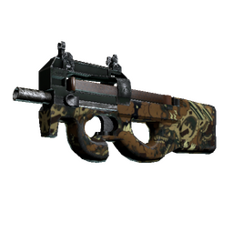 P90 | Cocoa Rampage (Well-Worn)