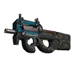 P90 | Facility Negative (Battle-Scarred)
