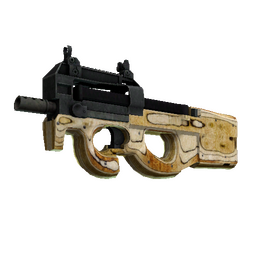 StatTrak™ P90 | Shapewood (Well-Worn)