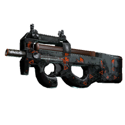 StatTrak™ P90 | Trigon (Battle-Scarred)