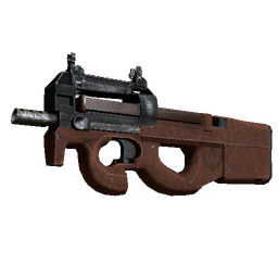 P90 | Leather (Well-Worn)