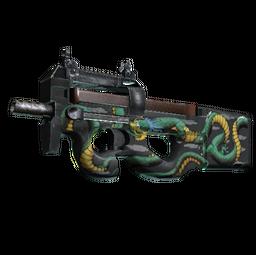StatTrak™ P90 | Emerald Dragon (Factory New)