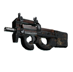 P90 | Tiger Pit (Battle-Scarred)