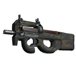 P90 | Sand Spray (Battle-Scarred)