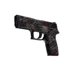 Souvenir P250 | Facility Draft (Well-Worn)