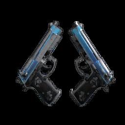 Dual Berettas | Urban Shock (Battle-Scarred)
