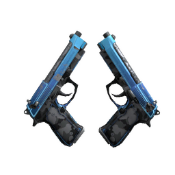 StatTrak™ Dual Berettas | Urban Shock (Field-Tested)