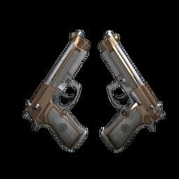 Dual Berettas | Cartel (Well-Worn)