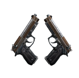 Dual Berettas | Tread (Battle-Scarred)