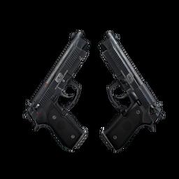 StatTrak™ Dual Berettas | Elite 1.6 (Well-Worn)
