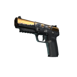 StatTrak™ Five-SeveN | Copper Galaxy (Field-Tested)