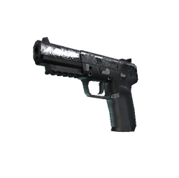 Souvenir Five-SeveN | Silver Quartz (Field-Tested)