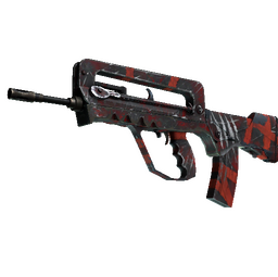 StatTrak™ FAMAS | Survivor Z (Well-Worn)