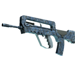 FAMAS | Cyanospatter (Factory New)