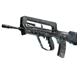 FAMAS | Contrast Spray (Battle-Scarred)