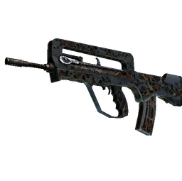 StatTrak™ FAMAS | Crypsis (Battle-Scarred)