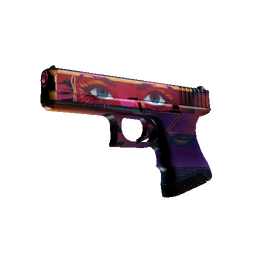 StatTrak™ Glock-18 | Vogue (Well-Worn)
