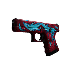 StatTrak™ Glock-18 | Water Elemental (Field-Tested)