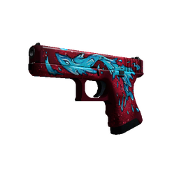 StatTrak™ Glock-18 | Water Elemental (Minimal Wear)