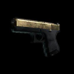 Glock-18 | Brass (Well-Worn)