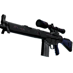 G3SG1 | Violet Murano (Battle-Scarred)
