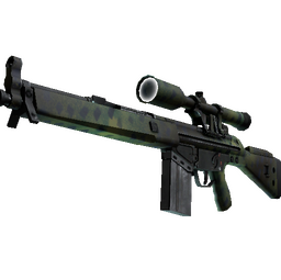 Souvenir G3SG1 | Jungle Dashed (Factory New)