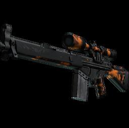 G3SG1 | Orange Crash (Battle-Scarred)