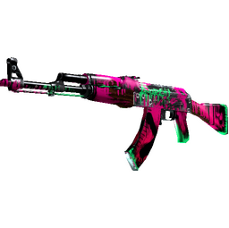 AK-47 | Neon Revolution (Well-Worn)