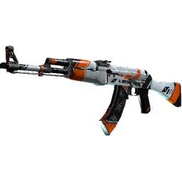 StatTrak™ AK-47 | Asiimov (Battle-Scarred)
