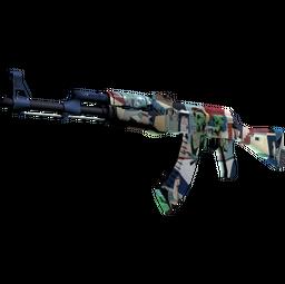 StatTrak™ AK-47   Leet Museo (Field-Tested)