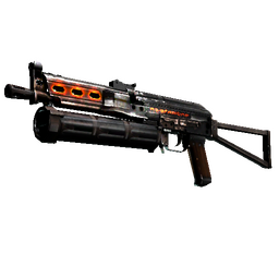 StatTrak™ PP-Bizon | Runic (Battle-Scarred)
