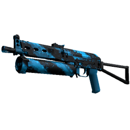 StatTrak™ PP-Bizon | Blue Streak (Factory New)
