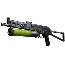 PP-Bizon | Chemical Green (Battle-Scarred)