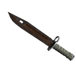 ★ StatTrak™ Bayonet | Rust Coat (Battle-Scarred)
