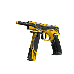 StatTrak™ CZ75-Auto | Yellow Jacket (Field-Tested)