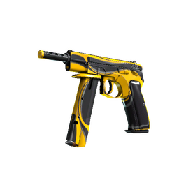 StatTrak™ CZ75-Auto | Yellow Jacket (Factory New)