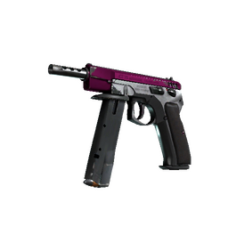 StatTrak™ CZ75-Auto | The Fuschia Is Now (Well-Worn)