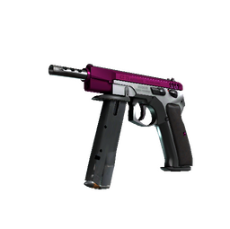StatTrak™ CZ75-Auto | The Fuschia Is Now (Minimal Wear)