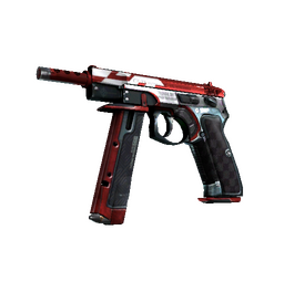 StatTrak™ CZ75-Auto | Red Astor (Factory New)