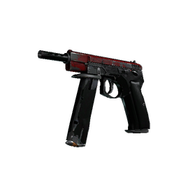 CZ75-Auto | Crimson Web (Battle-Scarred)