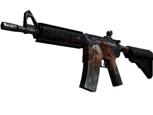 StatTrak™ M4A4 | Griffin (Battle-Scarred)