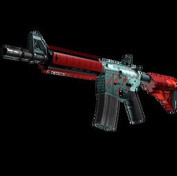 M4A4 | Bullet Rain (Minimal Wear)