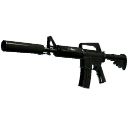 M4A1-S | Moss Quartz (Well-Worn)