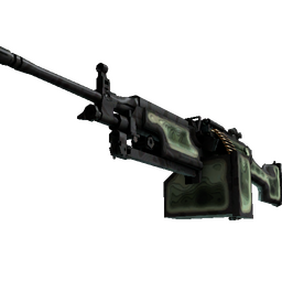 StatTrak™ M249 | Deep Relief (Factory New)