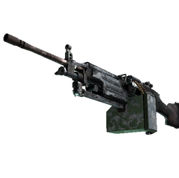 M249   Blizzard Marbleized (Battle-Scarred)