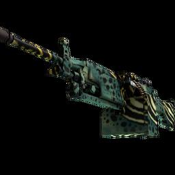 M249 | Emerald Poison Dart (Minimal Wear)