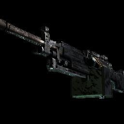 M249 | Midnight Palm (Battle-Scarred)
