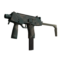 MP9 | Green Plaid (Minimal Wear)